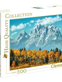 Grand Teton In Fall Pussel, 500 bitar omslag