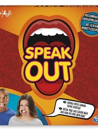 Speak Out, spel omslag