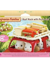 Sylvanian Families Roof Rack With Picnic Set omslag