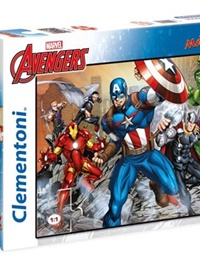 The Avengers MAXI Pussel Supercolors, 104 bitar omslag