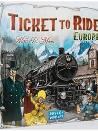 Ticket To Ride - Europa omslag