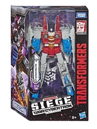 Transformers War For Cybertron; Siege, Starscream omslag
