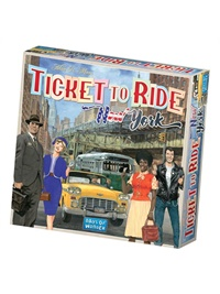 Ticket To Ride - New York omslag