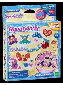 Aquabeads Golden Gem refillset omslag