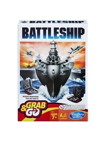 Battleship Grab And Go - Resespel omslag