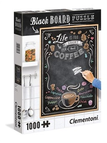 Chalkboard Puzzle Coffe Pussel, 1000 bitar omslag