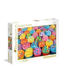 Colorful Cupcakes Pussel, 500 bitar omslag