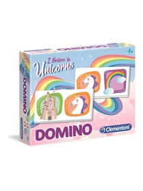 Domino Unicorn, spel omslag