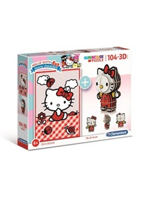 Hello Kitty 3D-pussel, 104 bitar omslag
