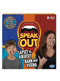 Speak Out Kids vs. Parents, spel omslag