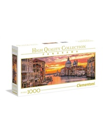 The Grand Canal - Venice Panorama Pussel, 1000 bitar omslag