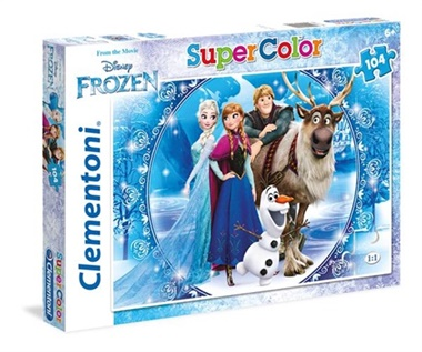 Frost Pussel Supercolors, 104 bitar omslag