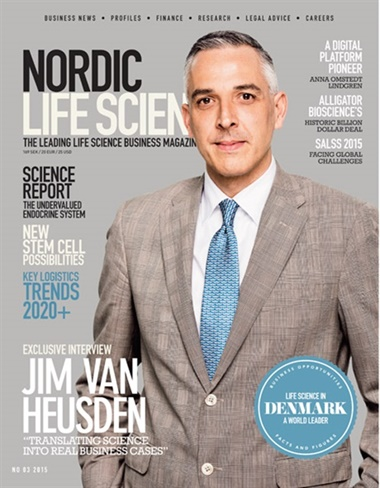Nordic Life Science Review omslag