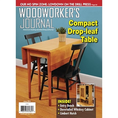 Woodworkers Journal omslag