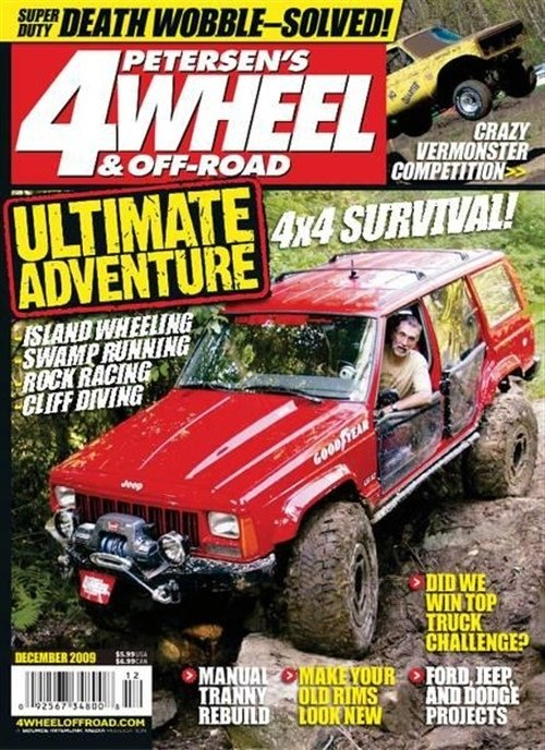 4 Wheel & Off Road omslag