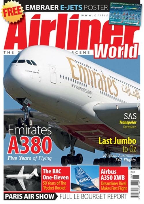 Airliner World Prenumeration Prenumerera P Airliner