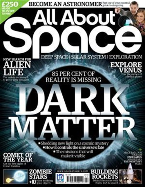 All About Space Magazine omslag