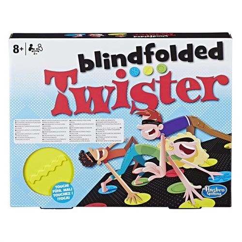 Blindfolded Twister - Spel omslag