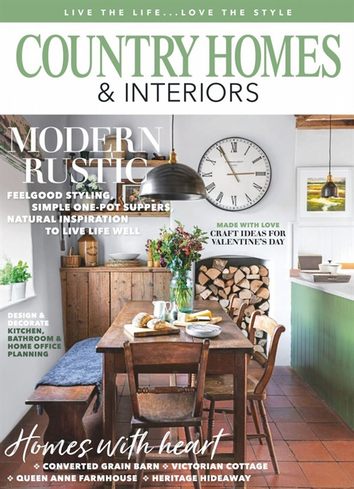 Country Homes & Interiors omslag