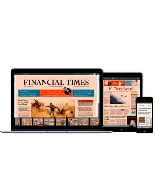 Financial Times Digital (Premium) omslag