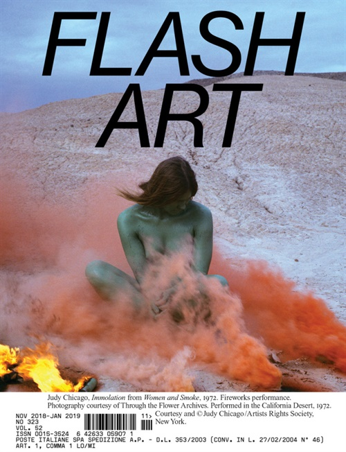 Flash Art International omslag