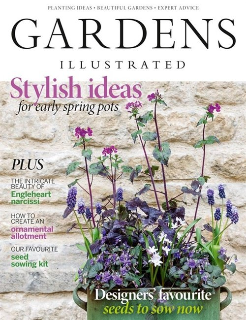 Gardens Illustrated omslag