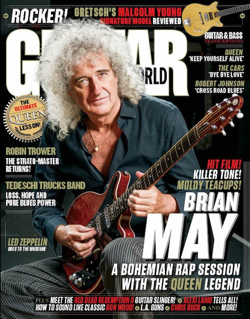 Guitar World omslag