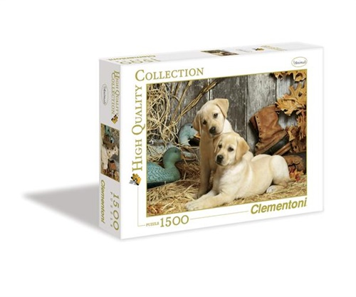 Hunting Dogs Pussel, 1500 bitar omslag