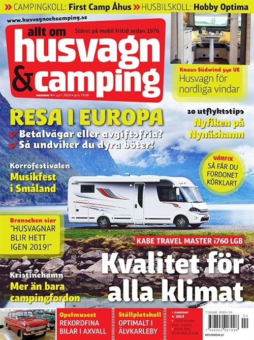 Husvagn Och Camping Prenumeration Prenumerera På Husvagn Och