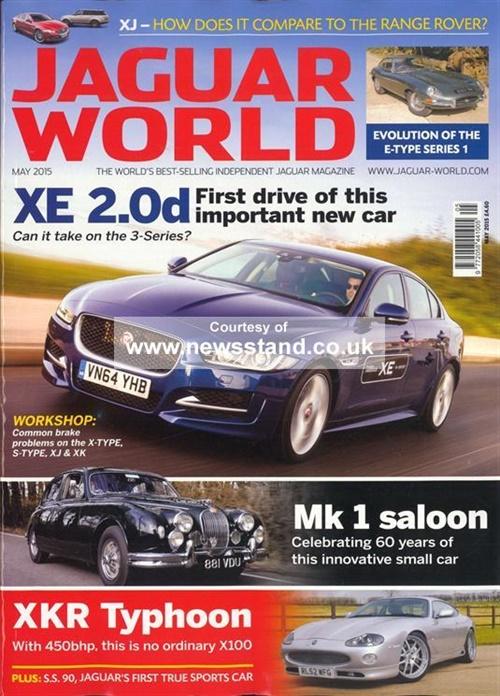 Jaguar World Monthly Prenumeration Prenumerera P Jaguar