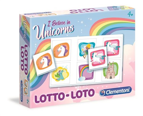 Lotto Unicorn - Spel omslag