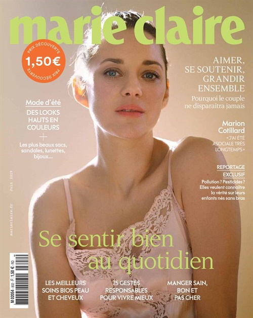 Marie Claire (French Edition) omslag