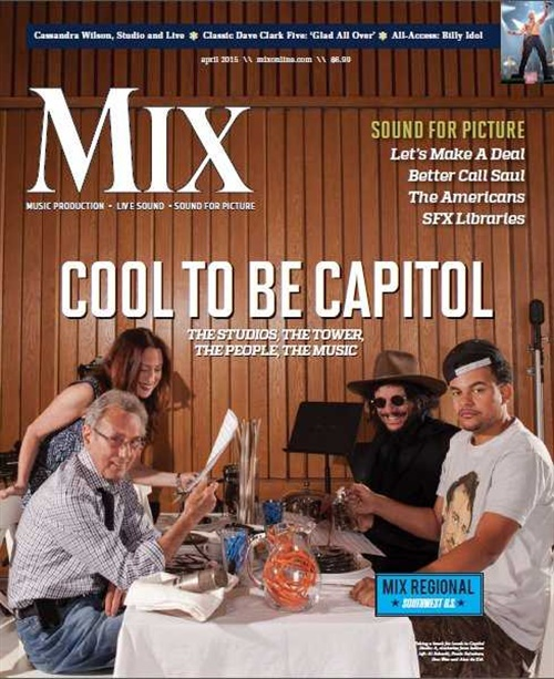 Mix Magazine/recording Industry Magazine omslag