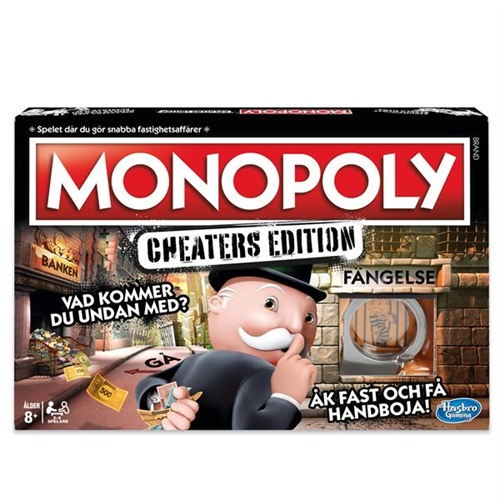Monopol Cheaters Edition - Spel omslag