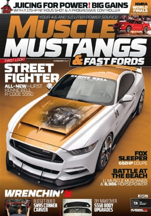Muscle Mustangs & Fast Fords omslag