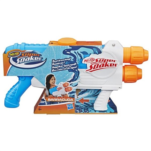 NERF, Super Soaker Barracuda omslag