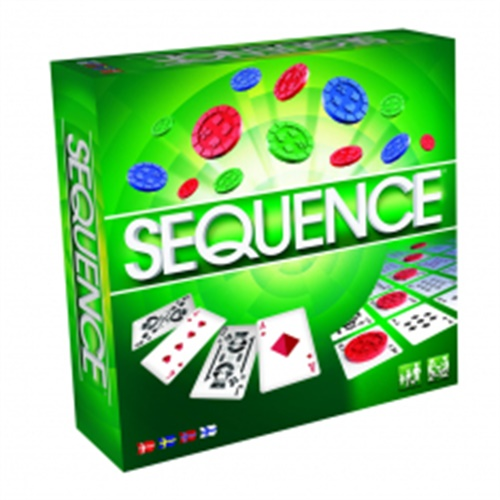Sequence - The Board Game omslag