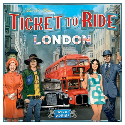 Ticket To Ride - London omslag