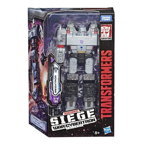 Transformers War For Cybertron; Siege, Megatron omslag