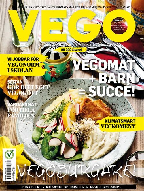 tidning vegetarisk mat