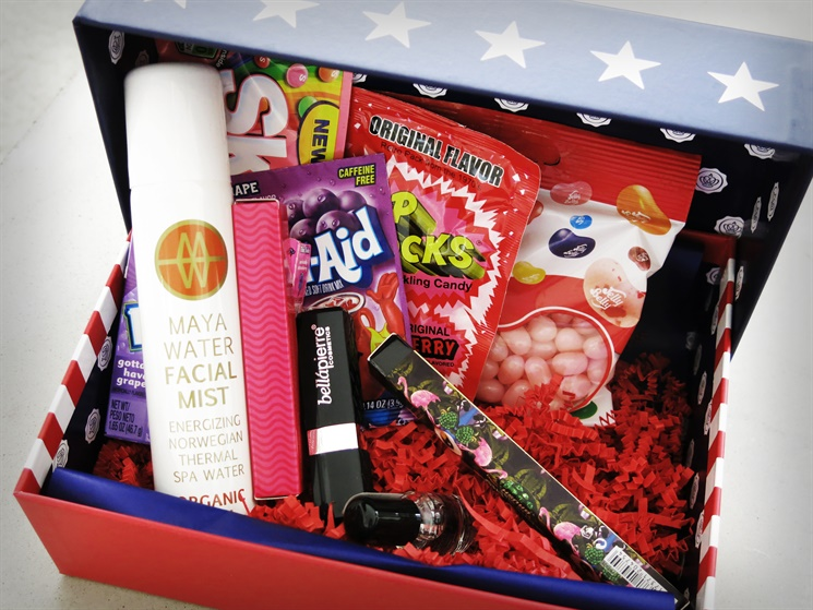 glossybox stars and stripes