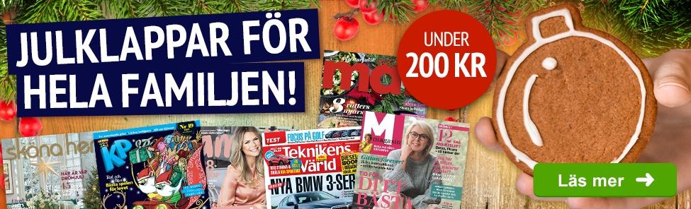 billiga tidningar med premie