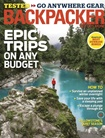 Backpacker omslag