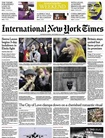 International New York Times omslag