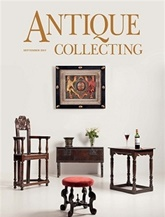 Antique Collecting omslag