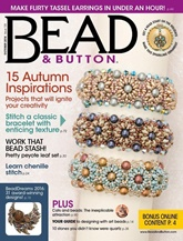 Bead & Button omslag