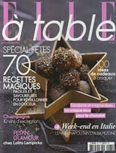 Elle A Table (French Edition) omslag