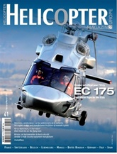 Helicopter Magazine Europe omslag