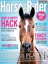Horse And Rider Magazine omslag