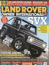 Landrover Owner International omslag